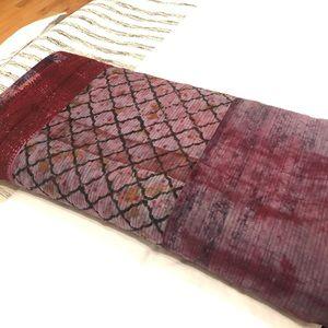 Handwoven Kantha Quilt